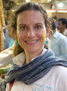 Chiara Zanetti Yoga Lehrerin