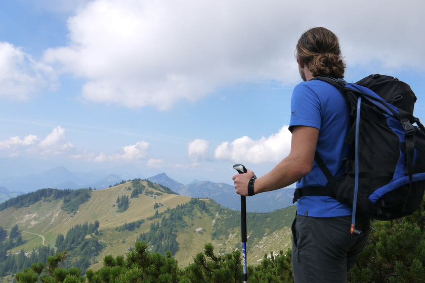 Wandern Yoga Alpen